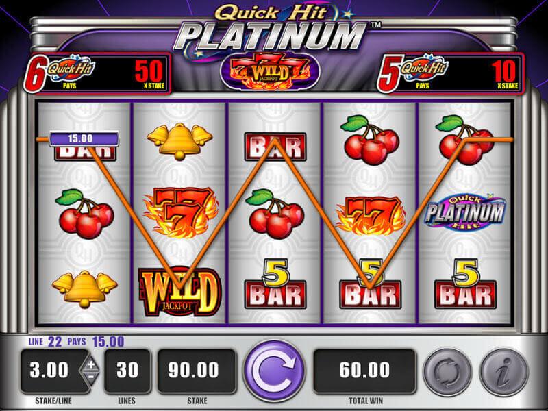 ¿Por qué elegir las máquinas tragamonedas del casino Quick Hit?